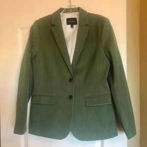 Banana Republic Olive Green Suit Blazer